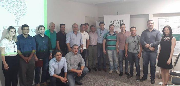 Programa Alimento Sustentável/RAMA  da ACATS cresce em SC