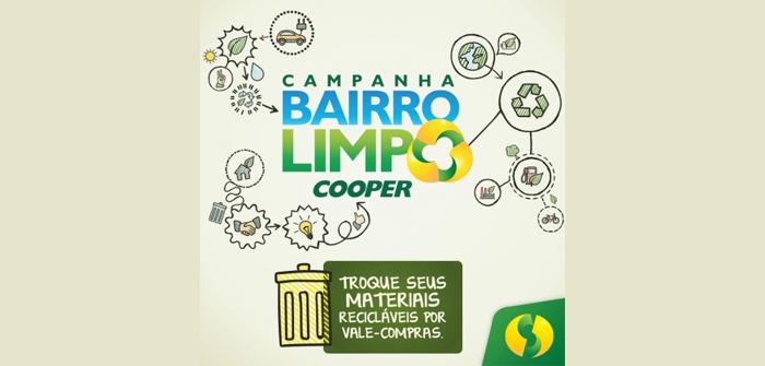 Cooper comemora resultados da campanha Bairro Limpo