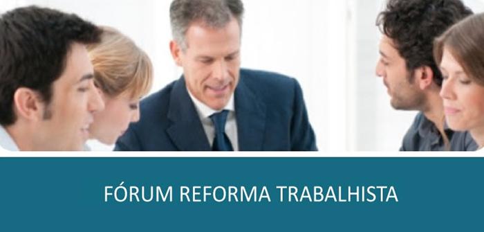 A Reforma Trabalhista em debate